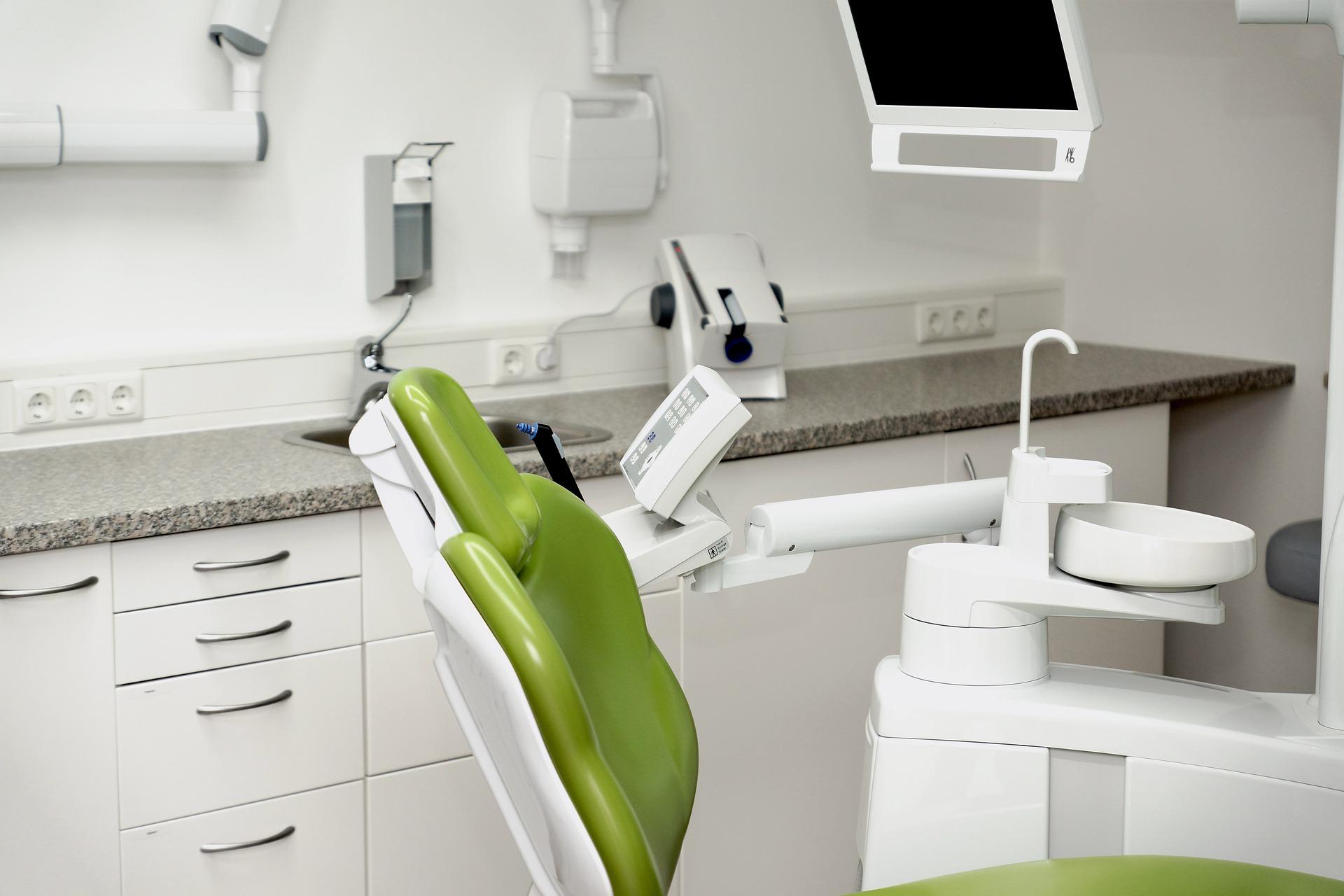 High-tech dental office